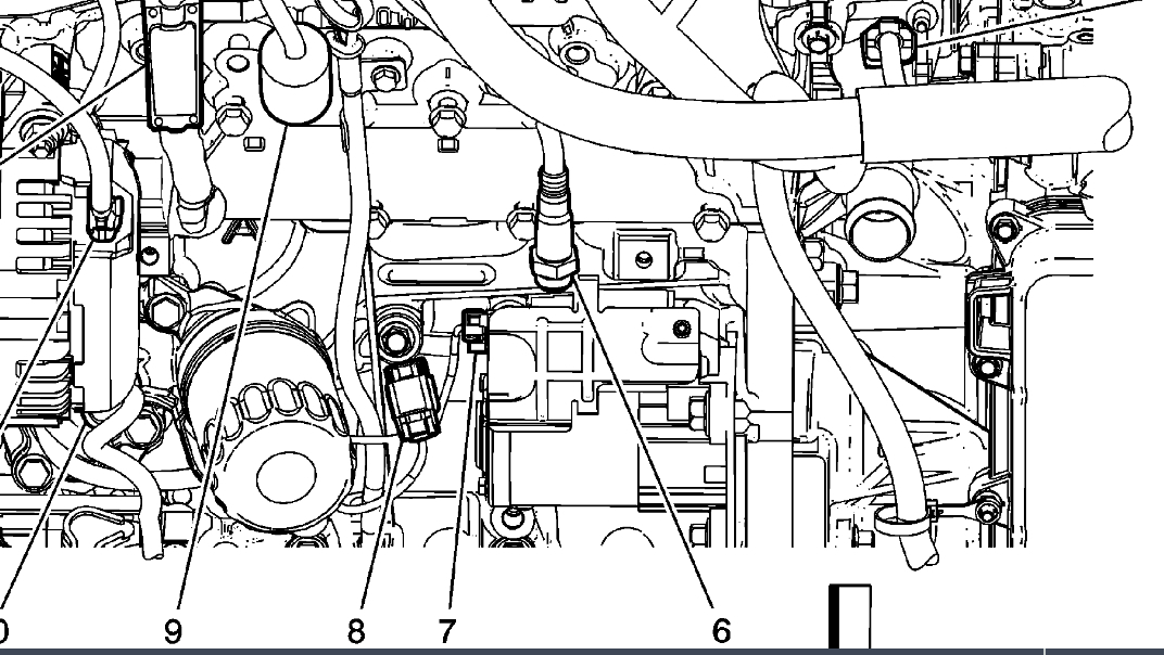 P0324 Fault - Knock Sensor Location