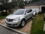 Papasobe's 2015 Chevy Traverse LTZ